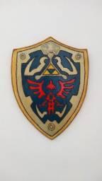 Quadro Rústico Temático Escudo Link