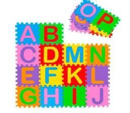 Vendo tapete alfabeto