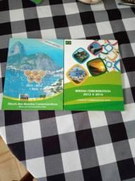 Álbum coleção das olimpíadas.