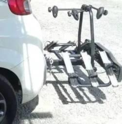 Transbike Plataforma de Engate para 3 bikes com Régua de Sinalização - bicicleta/suporte