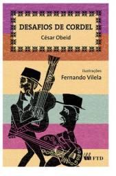 Livro Desafios de Cordel - César Obeid