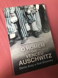 Livro O Homem que venceu Auschwitz