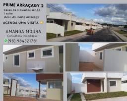 Título do anúncio: A= Prime Araçagy II, Casas de 3 quartos