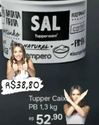 Tupper Caixa Sal 1,3kg