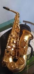 Título do anúncio: Sax alto Hoyden hás 25 JO.semi novo