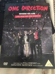 DVD where we are, one direction
