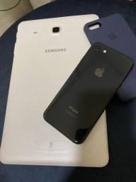 Tablet Samsung + iPhone 8 64 GB