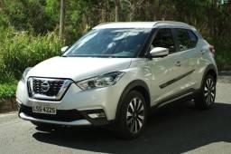 Nissan Kicks SL 2016/2017, IPVA pago, completo e pouco rodado