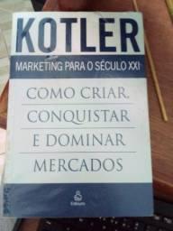 Livro Kotler. Marketing para o século XXI: como criar, conquistar e dominar mercados