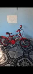 Bicicleta aro 20 nova e lubrificada