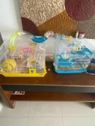 Mega gaiola de hamster