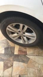 Vendo pneu 80% dunlop 168/65 R15 serve no polo e no virtus