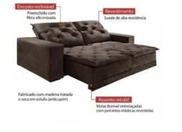 Título do anúncio: Oferta da Hora!! Sofá Martins 2,90m Largura (Retrátil e Reclinável) - Só R$2.649,00