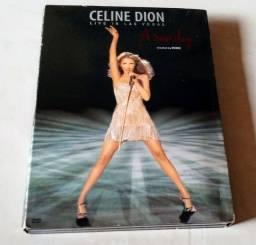Dvd duplo Celine Dion
