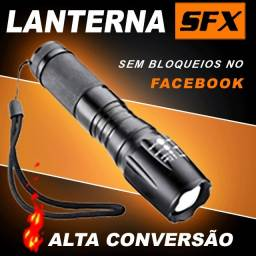 Lanterna Tática SFX Maravilhosa à prova d'agua