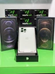 iPhones 12 pro max lacrado com 1 ano de garantia Apple .