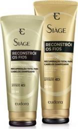 Shampoo e condicionador Eudora