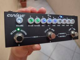 Pedal Guitarra Cuvave Cube Baby Leitor Impulse Response, Delay, Reverb, Chorus, Phaser