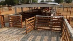 Reforme ou construa o carrual para sua fazenda