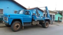 Caminhão Ford F12000 Poliguindaste. Ótimo estado - 1982