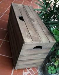 Bau em madeira