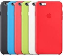 Capa Silicone Apple Iphone 5 X Se 6 6s 7 8 Plus