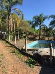 Area em condominio com acude piscina salao de festa
