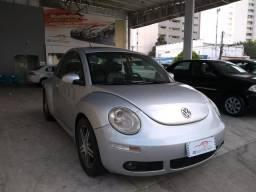 Volkswagen 2008 new beetle 2.0 Automatico completo prata carro bem conservado confira - 2008