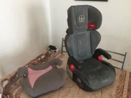 Cadeira infantil + Assento elevatório automotivos
