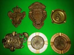 Cinzeiros de Bronze