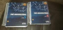 Apostilas Pré universitário sistema SAS de ensino. VERIFIQUE A DESCRIÇÃO!
