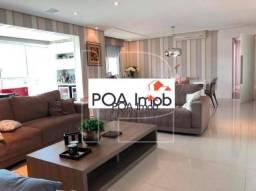 Apartamento com 3 dormitórios para alugar, 165 m² por R$ 10.000,00/mês - Bela Vista - Port