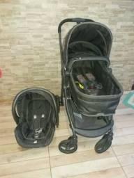 Vendo carinho da Galzerano com bebê conforto PASSO CARTÃO