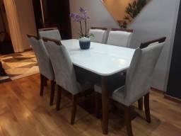Mesa de já dar com 6 cadeiras 5 meses de uso