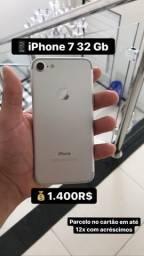 IPhone 7 32 Gb Prata 1.400R$