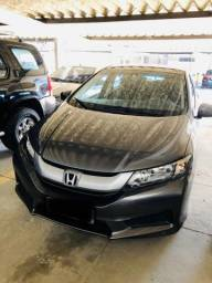 Honda city DX automático, baixa quilometragem - 2016