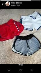 Shorts moletons