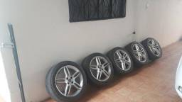 Rodas aro 17 original do Stilo
