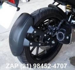 Paralama traseiro corta lama para fz 25 - fazer 250 2018 e outras motos (Honda e Yamaha)
