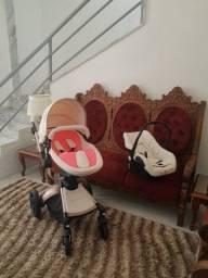 Aulon carrinho de bebê 3 em 1 [seminovo]