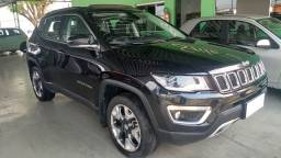 "Jeep Compass Limited 2.0 diesel 4x4 aut 2018 ""Único dono"""