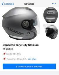 Capacete Yohe City Titanium