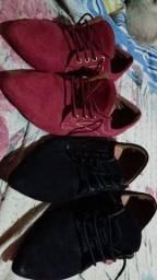 Sapato em carmurça RAFAELA COUTTI