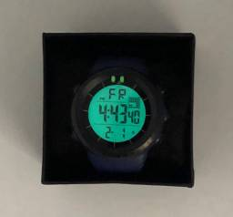 Relógio Esportivo Masculino Digital Azul Sport Watch à Prova Dágua Produto Novo