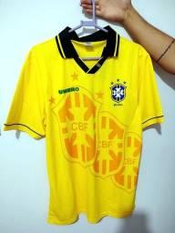 Camisa Retrô Brasil 1994 - Nova