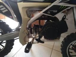 Mini moto gasolina semi nova partida fácil