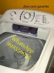 Máquina de lavar nova Electrolux de 13kG com nota