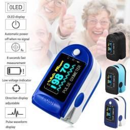 Monitor de Frequência Cardíaca com Prendedor de Dedo / Oxímetro / Monitor