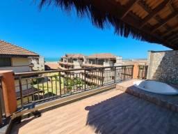 |NG| Imperdível, Aquiraz Riviera!!! Cobertura Duplex, Pé na Areia. Só 999 mil!!!