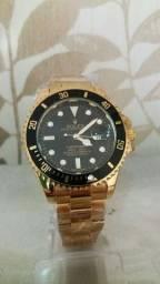 Relógio Dourado Rolex - Aço inoxidável